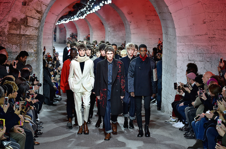 In Paris, Menswear Fused with Fashion