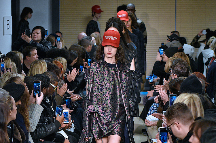 At NYFW, Resistance Two Ways