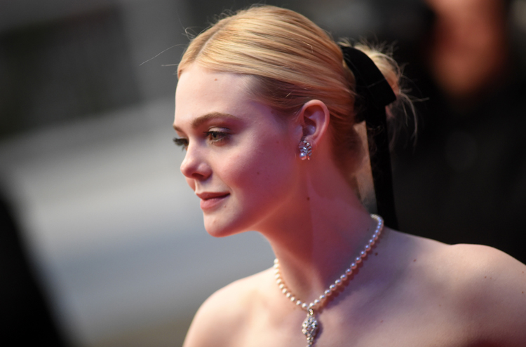 Elle Fanning Puts a Glamorous New Spin on the Little Black Bow