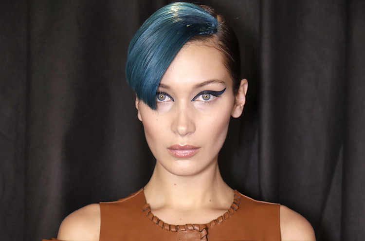 The Secret to Recreating Fendi's Bespoke Shade of Blue Hair