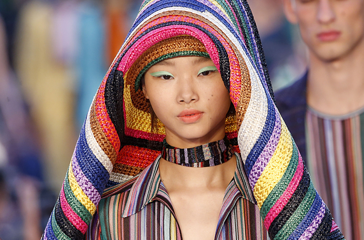 The Pastel Eyes at Missoni Are More Punk Than Pretty