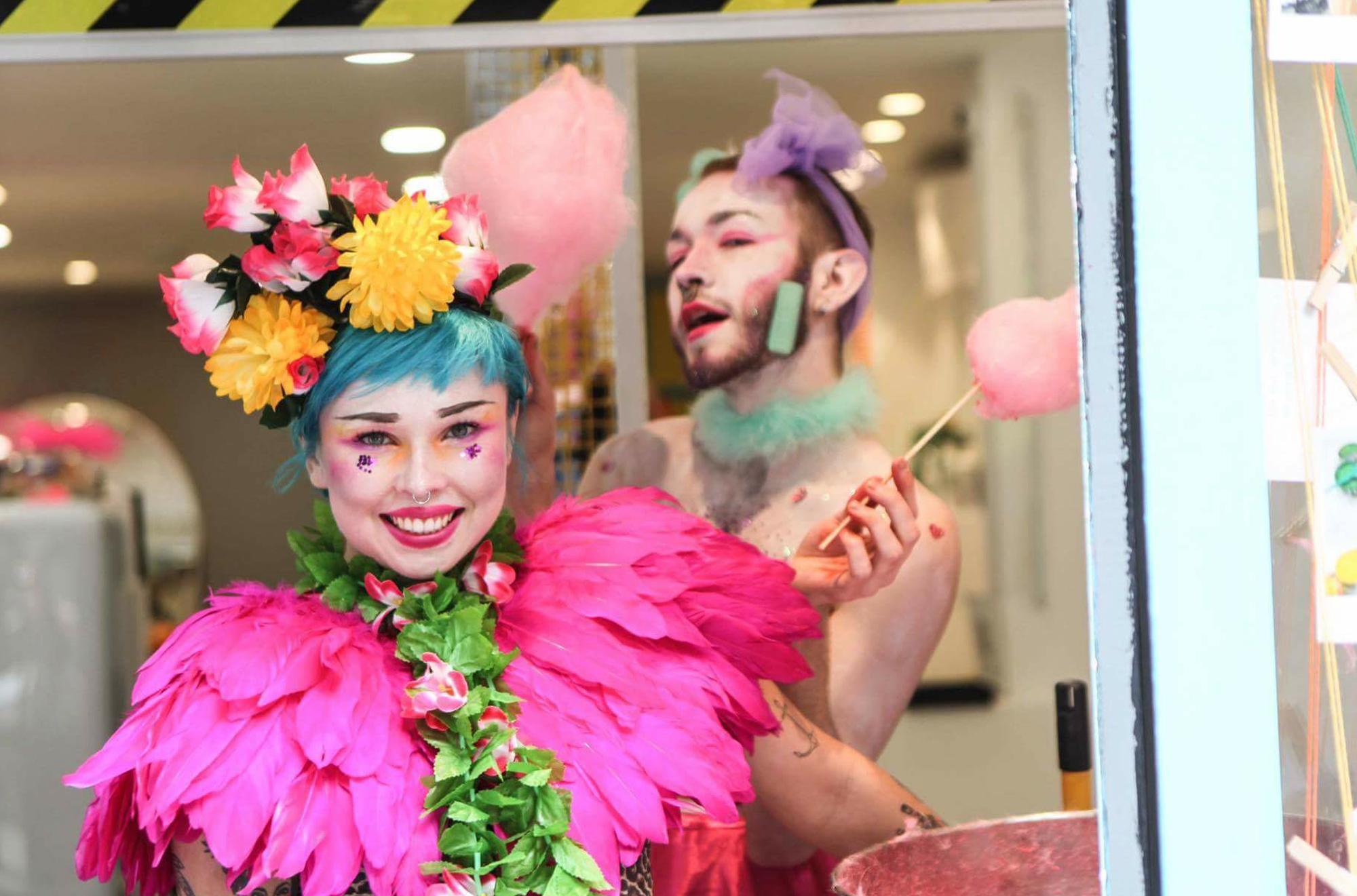 Rainbow Rooms London Salon