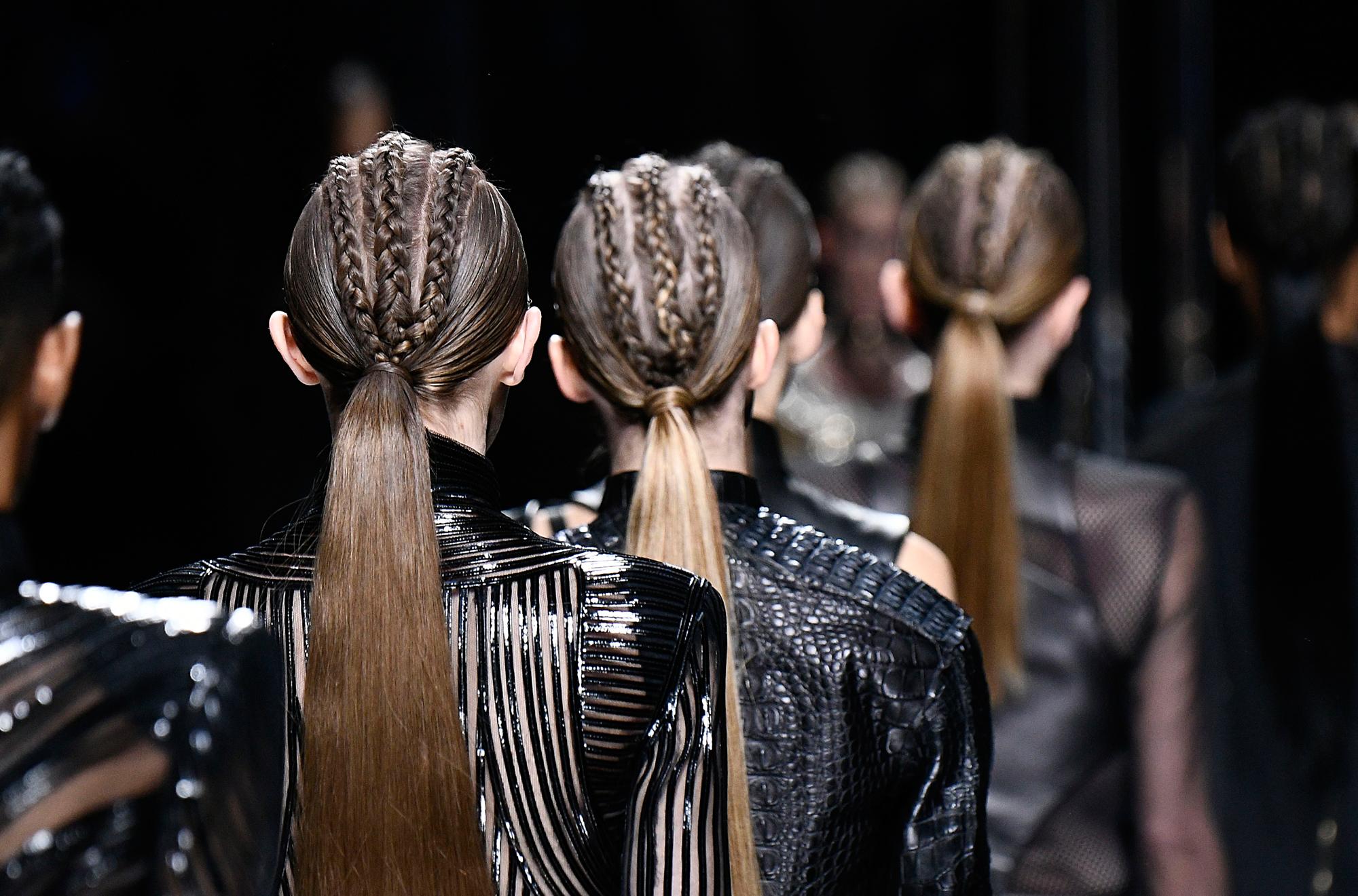 balmain braids