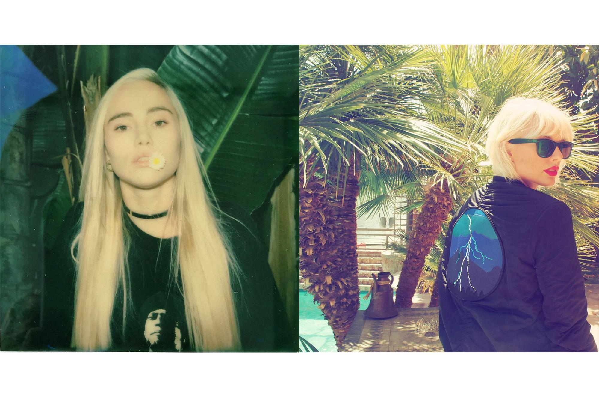 blondes lead